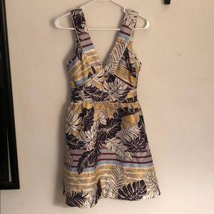 H&M v neck and open back dress, size 6